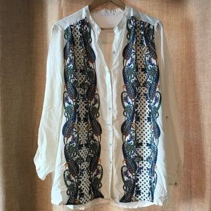 Tops - Tunic Blouse, size L, size 12-14
